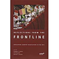 Cover of Reflections fron the Frontline book